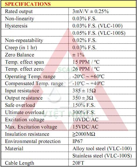 Loadcell VLC 100, Loadcell VLC 100, datasheet-loadcell-vlc-100-3mv_1341897076.JPG